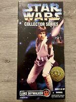 "Star Wars 1996 Collector Series Luke Skywalker Action Figure 12"" New Sealed Box"