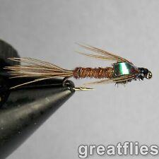 1 dozen (12) - Pheasant Tail Nymph - Flash Back