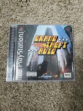 Grand Theft Auto (Sony PlayStation 1, 1998) Black Label/Complete