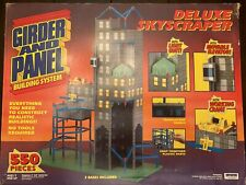 Vintage 80's Irwin Deluxe Skyscraper Girder And Panel Building System 55130.