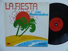 """MAXI 12""""  LOS MACHUCAMBOS La fiesta 813624 1 PROMO FRANCE"""