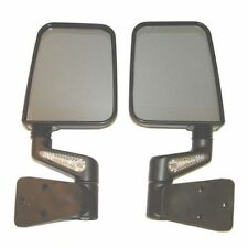 Jeep Wrangler Yj Tj 87-02 Mirrors W/ Led Black  X 11015.20