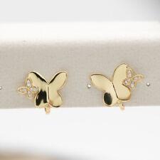 NEW Kate Spade Gold butterfly clip earrings