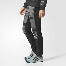 BP5360 Women's Adidas TERREX SKYRUNNING P AOP Walk Climawarm Bottoms Pants UK-12
