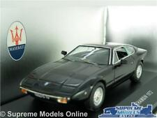 MASERATI KHAMSIN MODEL CAR 1972 1:43 SCALE BLACK CLC082 CLASSIC IXO SPORTS K8