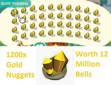 ✅ Online Now 12 Million Bells In Gold Nuggets 1200 Gold Nuggets Nmt Available