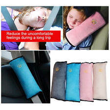 Car Safety Seat Belt Pillow Shoulder Strap Pad Cushions Head Supports Child Kids