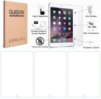 3x Tempered Glass Screen Protector For iPad 9.7 10.2 7th 5th 6th Mini Air Pro