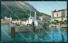 Brescia Maderno Battello cartolina QK7103
