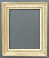 "Large, Mid-Century Modern, Wormy Chestnut Frame, 26"" X 22""."