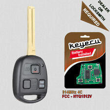 Replacement Remote key Fob for Lexus ES300 GS300 GS400 IS300 1998-05 HYQ1512V 4C