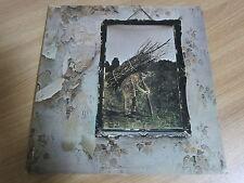 LED ZEPPELIN 4 Korea Vinyl LP 1993 INSERT