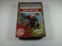 Blood Bowl Skaven Team Card Pack 60220906001 (Limited, OOP, New)