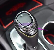 Carbon fiber style Gear Shift Knob Cover Trim For Chevrolet Cruze 2017-2018