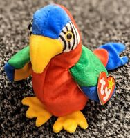 Ty Beanie Baby-Jabber the Parrot 1997