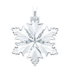 *NIB* 2014 SWAROVSKI CRYSTAL CHRISTMAS ORNAMENT SNOWFLAKE  #5059026