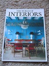 The World of Interiors  Magazine August 2013     USA SELLER