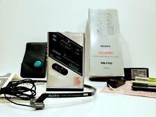 SONY WALKMAN WM-F100 BOXED + EXTRAS