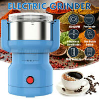 Electric Stainless Steel Grinding Milling Machine Coffee Bean Grinder 220V