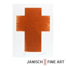 """ARNULF RAINER - Radierung """"Kreuzfeldbraun"""", handsigniert, 2009, Auflage 30!"""