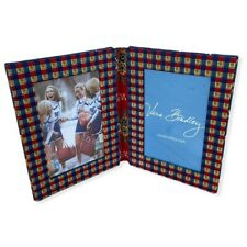 Vera Bradley Emily 4x6 Double Picture Frame Display Decor Holds 2 Photos