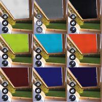 Thermo Sonnenschutz Dachfensterrollo für Velux Dachfenster 98% UV Schutz Saugnaf