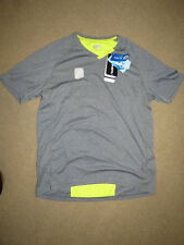 GREAT LG Louis Garneau gray IceFit2 fabric HTO2 cycling jersey - mens XL $90