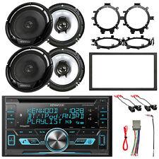 "CD Radio, 4x 6.5"" Speakers w/ Harness + Brackets, Stereo Install Accessories"
