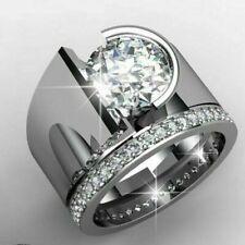 Women Wedding Engagement Jewelry Size 7 Fashion 925 Silver Cubic Zirconia Ring