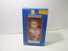 """Vintage 1991 Gerber Products 6"""" Baby Girl Vinyl Doll #59106 t3687"""