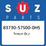 83730-57S00-DH5 Suzuki Trim,rr dr,r 8373057S00DH5, New Genuine OEM Part