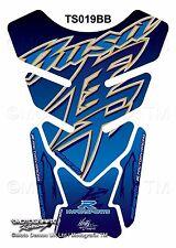 Suzuki Hayabusa GSX1300R Blue Motorcycle Tank Pad Motografix 3D Gel Protector