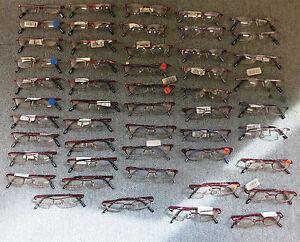 Joblot 50 x First Look Kids Optical Designer Reading Glasses New