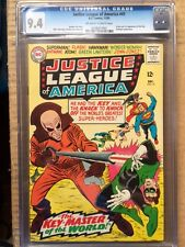 JUSTICE LEAGUE OF AMERICA #41 CGC NM 9.4; OW-W; origin, 1st app. the Key!