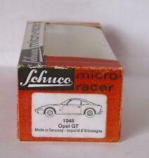 Repro Box Schuco Micro Racer 1048 Opel GT
