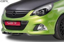 CSR Cupspoilerlippe mit ABE für Opel Corsa D CSL110