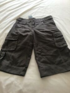 BNWT next brown knee length wide leg shorts size 6