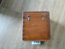 Antique wooden box Dovetail joints