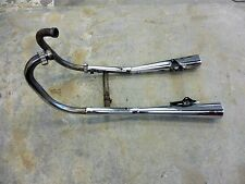 1982 Suzuki GS450T GS 450 S683. exhaust headers mufflers left right complete