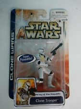 Star Wars Clone Wars Army of the Republic Clone Trooper Super Poseable New