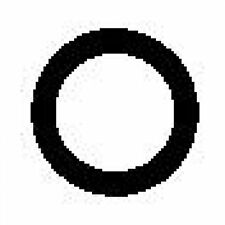 10 St. ELRING 212.610 Dichtung, Zylinderkopfhaubenschrauben   für Opel Sintra