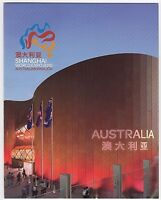 2010 STAMP PRESENTATION  PACK 'SHANGHAI WORLD EXPO' INC MINI SHEET 10 x 55c MNH