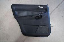 00-02 Audi B5 A4 S4 OEM Driver Side Rear Door Panel Onyx Black