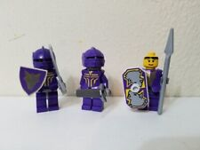 Lego knights kingdom II: castle figure purple Figures