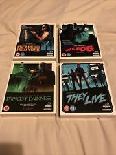 CARPENTER'S THE FOG THEY LIVE PRINCE OF DARKNESS ESCAPE FROM NEW YORK LIMITED 4K