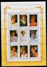 Afghan Post Princess Diana Stamps Souvenir Sheet 1998 FREE SHIPPING