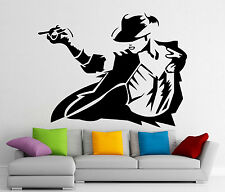 Michael Jackson Wall Decal King Of Pop Vinyl Sticker Music Art Decor Mural 172s