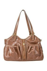 PETOTE METRO Toffee with Leather Tassel Tote Dog Carrier Bag 3 Sizes