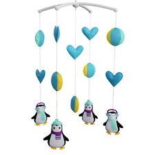 [Cute Penguins] Newborn Baby Musical Toys Crib Dreams Mobile
