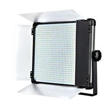 Dison D1080II Bi color LED Studio Photography Video Light Panel w/ Barndoors